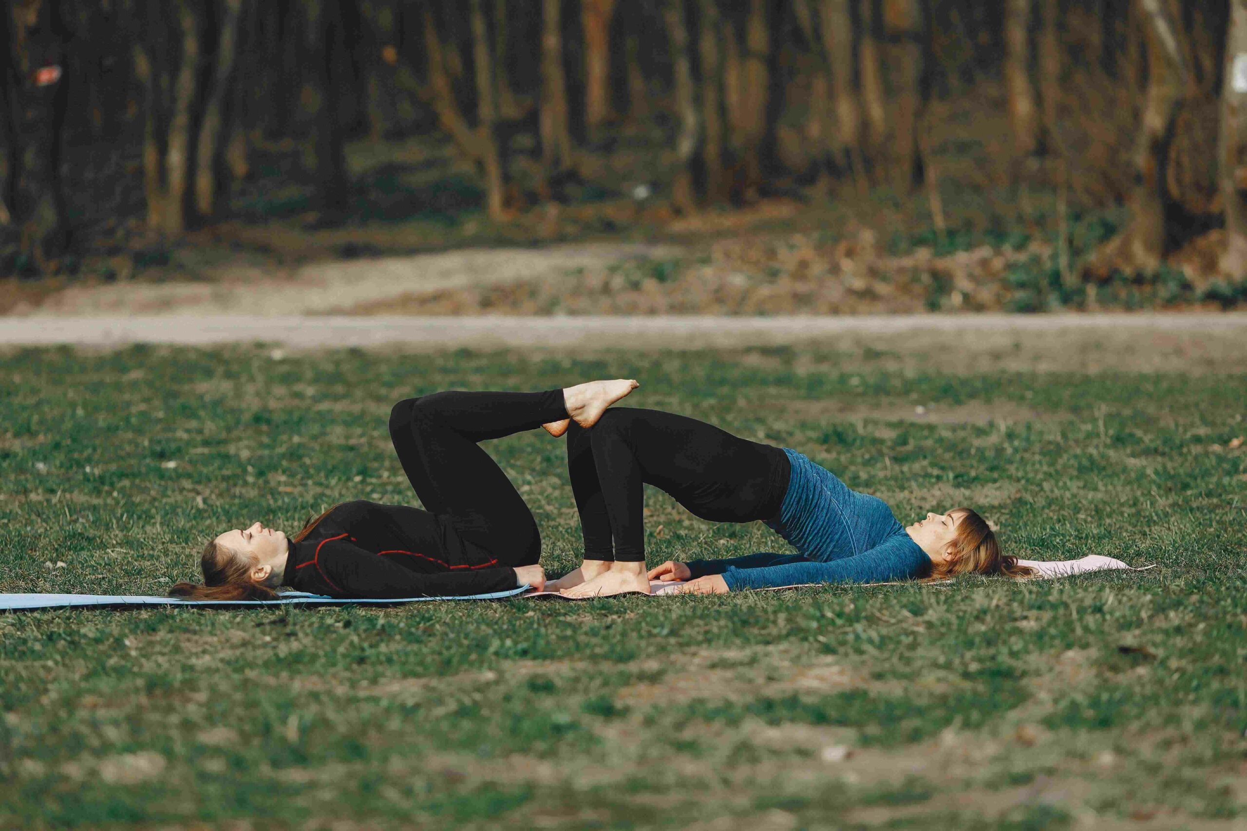 yoga challenges for two person