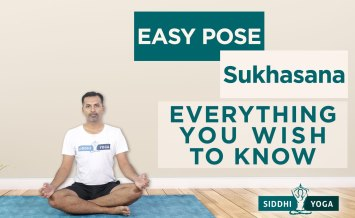 easy pose sukhasana