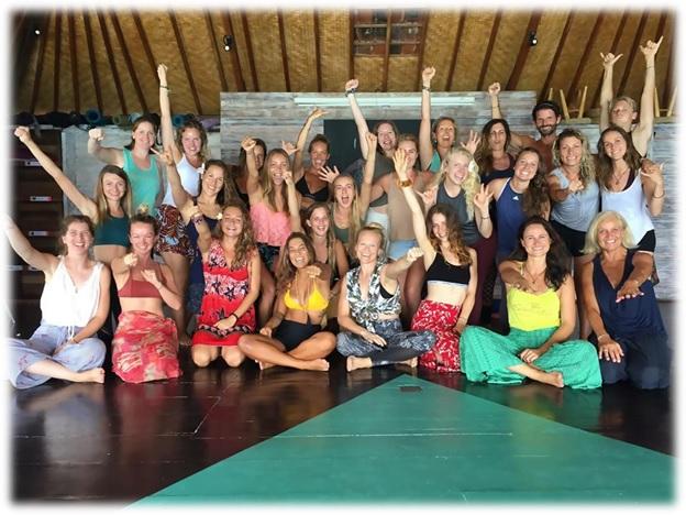 the best yoga training in bali