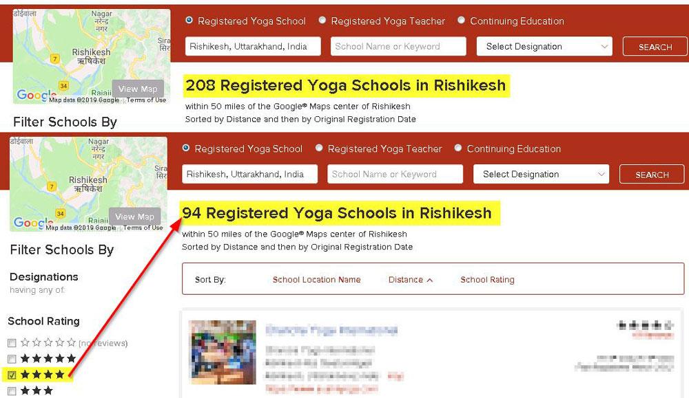 yoga alliance registered schools rishikesh