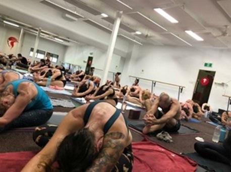 yoga in brisbane fire shaper
