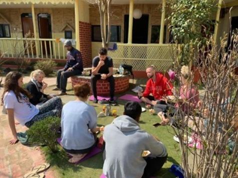 yoga in nepal yoga academy
