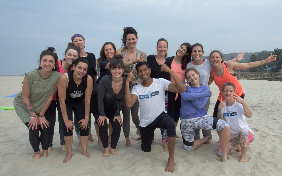 yoga retreats goa