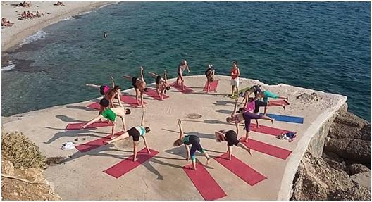 best yoga in greece