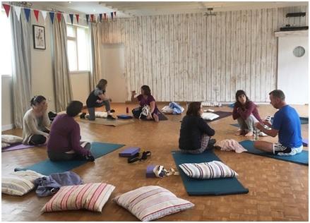 yoga teacher training greece