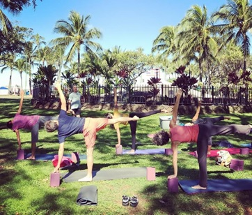best yoga training in honolulu