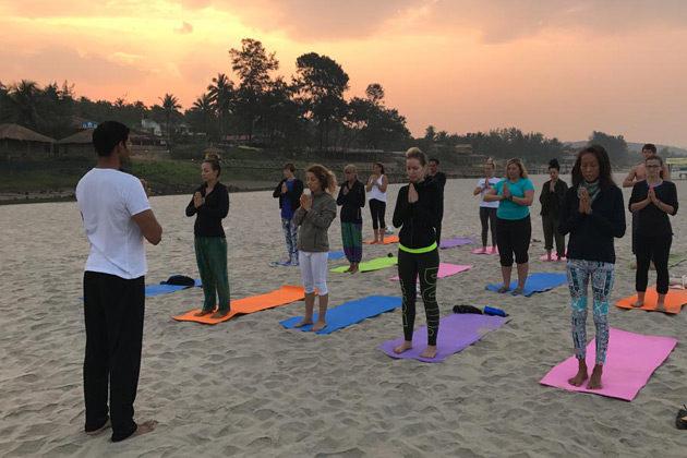 yoga teaching training in goa