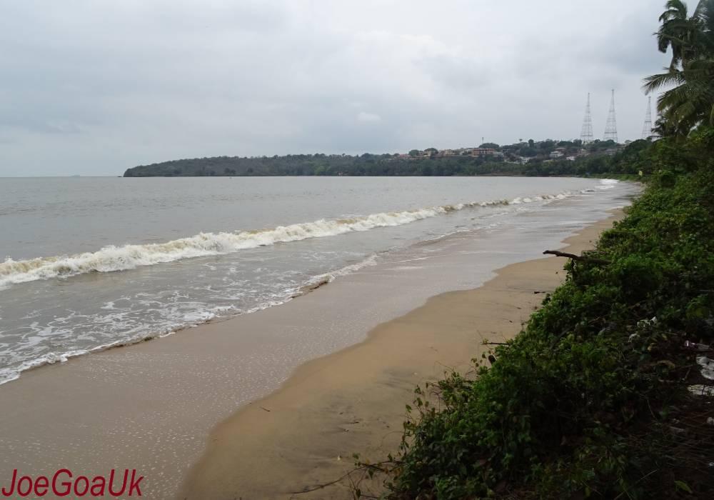 bambolim beach south goa