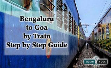 bangalore goa train