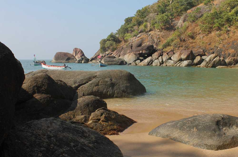butterfly beach south goa