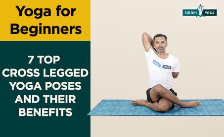 cross legged yoga poses for beginners