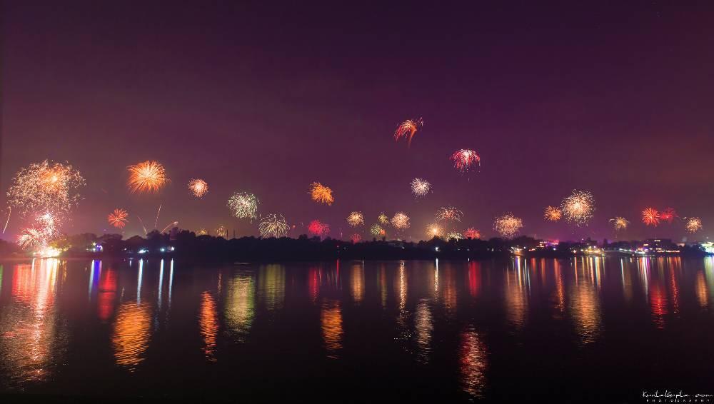 Diwali in Calcutta