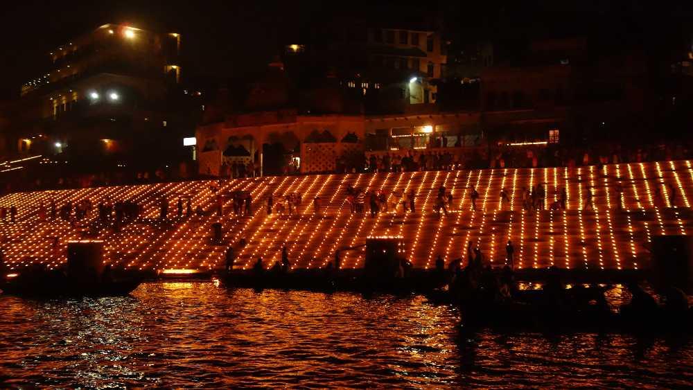 Diwali a Varanasi