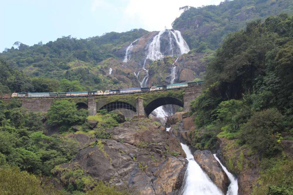 doodh sagar waterfall