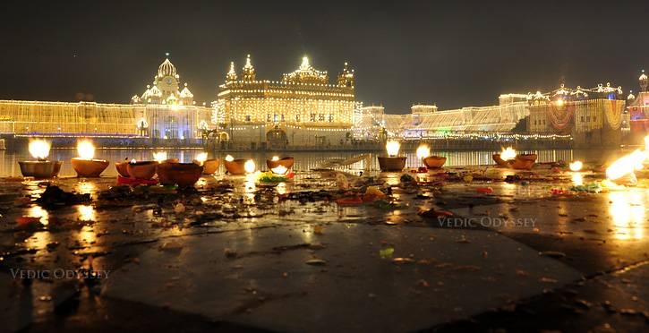 golden temple amritsar diwali
