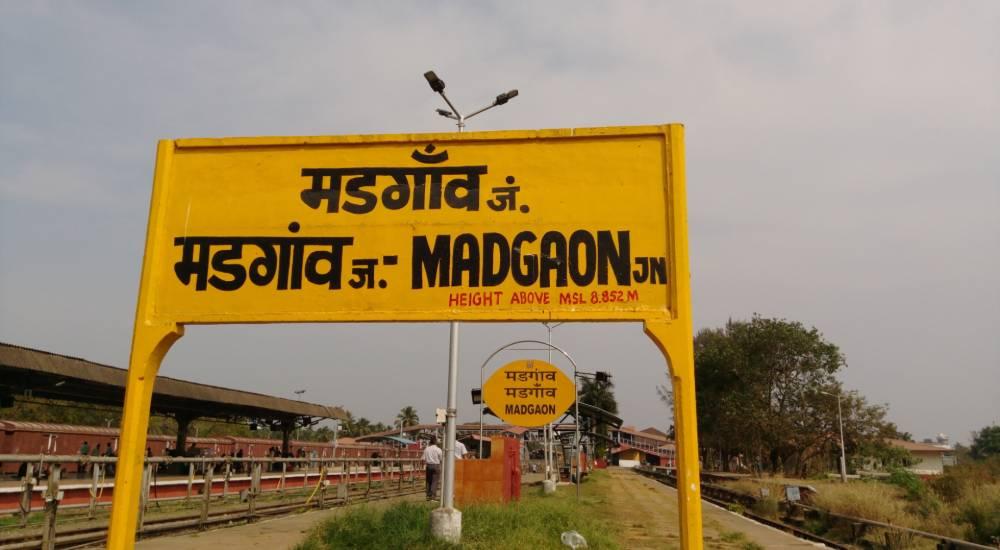 madgaon railway stations goa