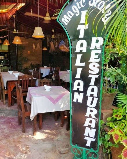 magic italy south goa restaurant