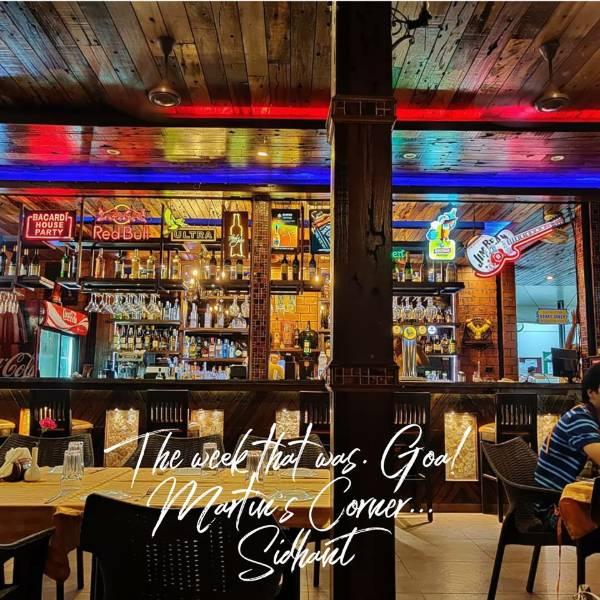 martin corner goan cuisine south goa