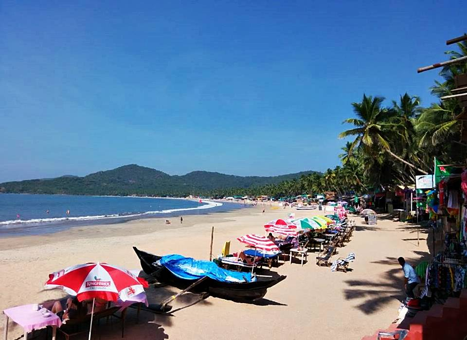 palolem beach south goa