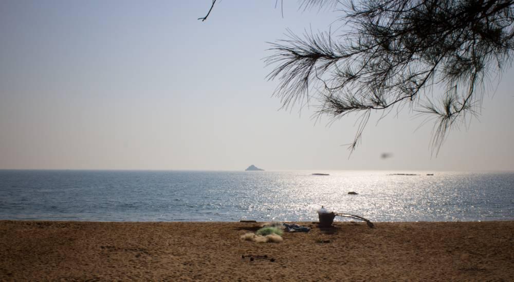 polem beach south goa