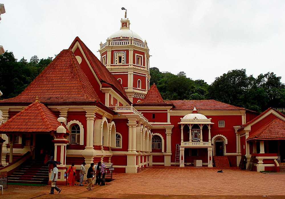 shri shantadurga temple south goa
