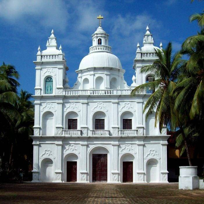 st. alex church south goa