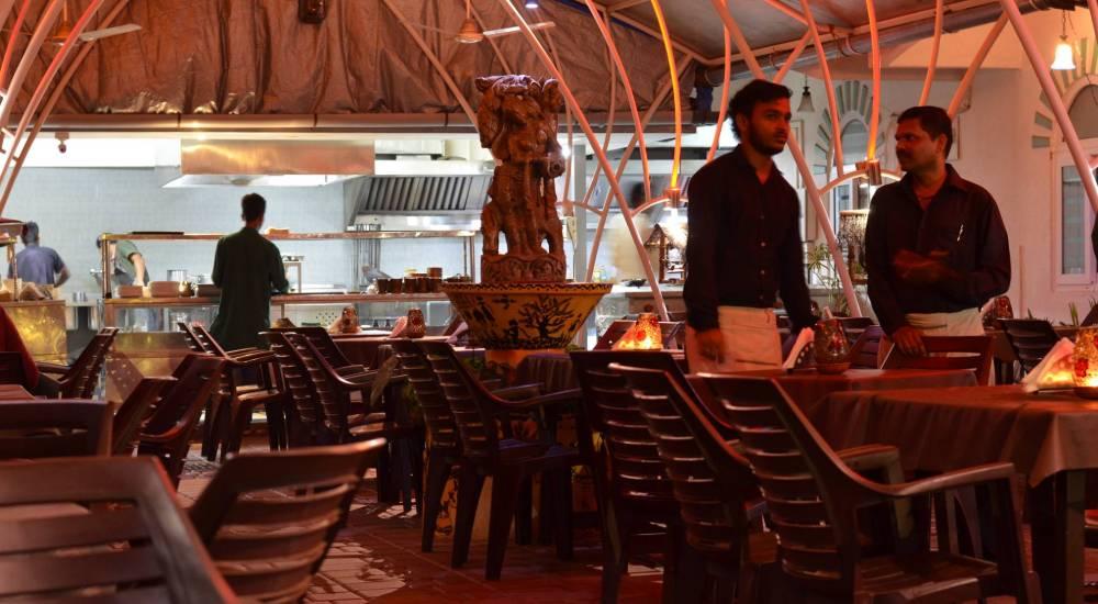the garden soth goa restaurants