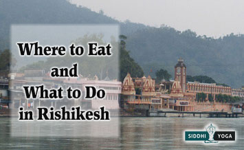 what to eat and do in rishikesh