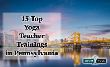 yoga teacher training in pennsylvania