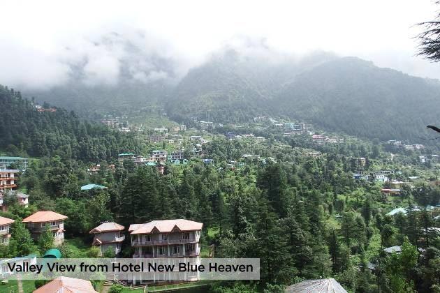hote nouveau ciel bleu vue dharamkot