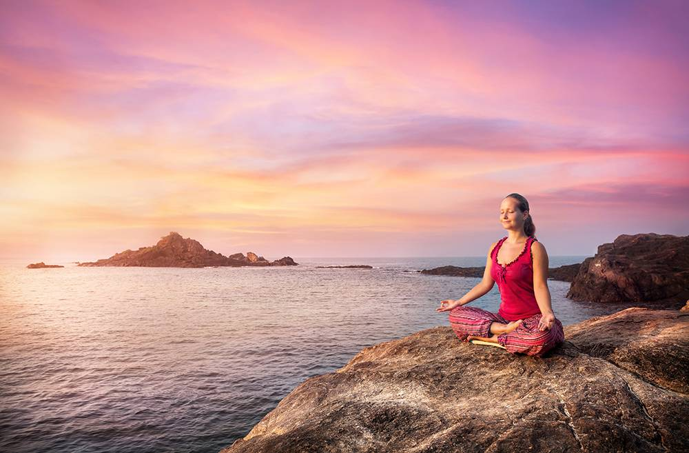 yoga poses for stress