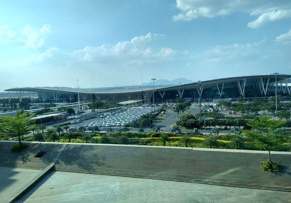 busiest airports in india kempegowda international airport