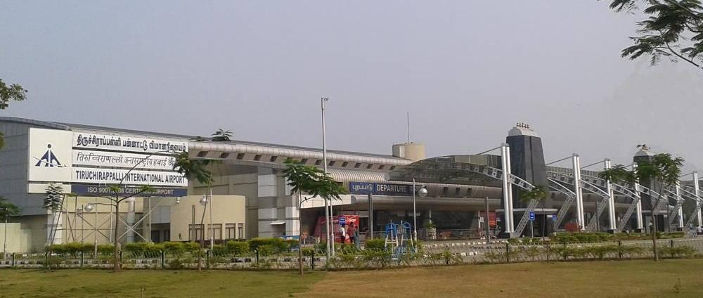 largest airports in india tiruchirappalli international airport
