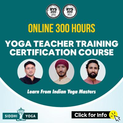 300 hour yoga teacher training 2021