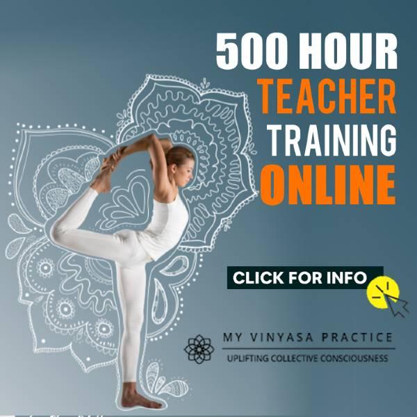 500時間の教師トレーニングオンライン